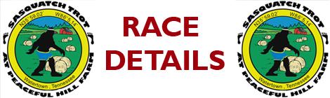 Sasquatch Trot  - pre-race details