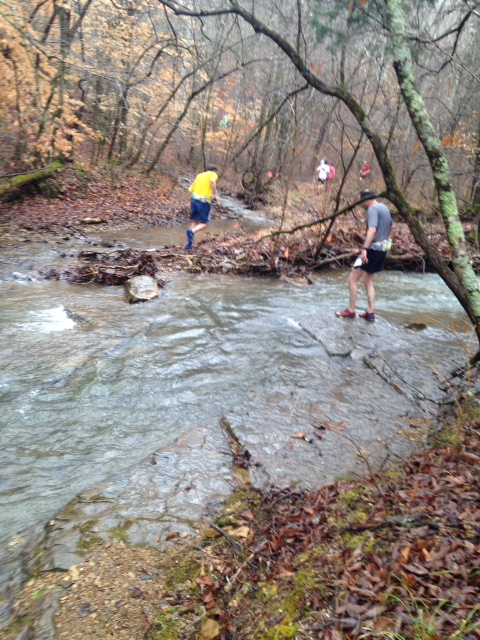 One of many creek crossings